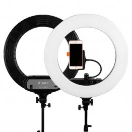 Caruba Round Vlogger LED set met tas - Black