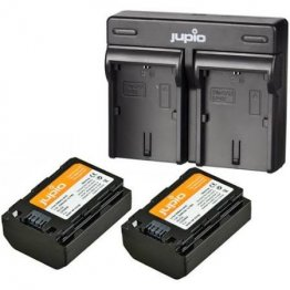 Jupio Kit: 2x Battery NP-FZ100 + USB Dual Charger