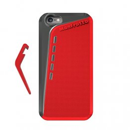 Manfrotto Klyp + Red Case iPhone 6