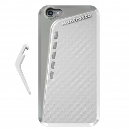 Manfrotto Klyp + White Case iPhone 6plus